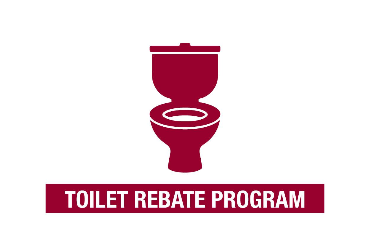 Toilet rebate program