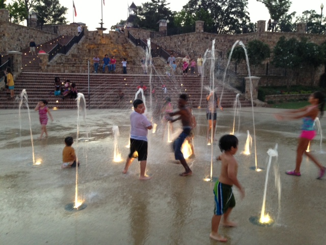 Webb Splash Pad