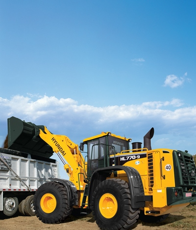 Photo of Hyundai front loader