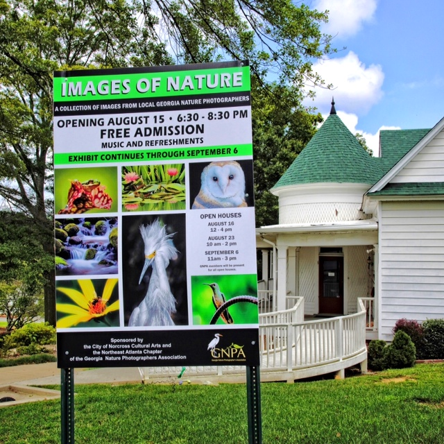 Images of Nature Sign